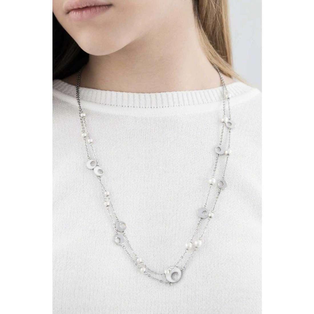 Sagapò colliers Eclipse femme SCL02 indosso