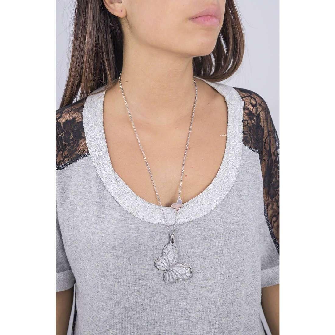 Sagapò colliers Glitter femme SGL02 indosso