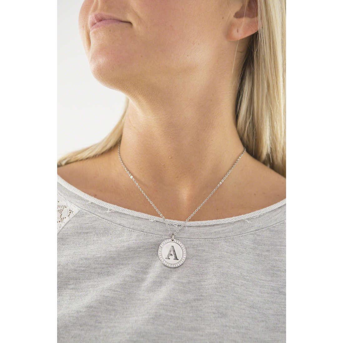 Sagapò colliers LetteRing femme SLR01 indosso
