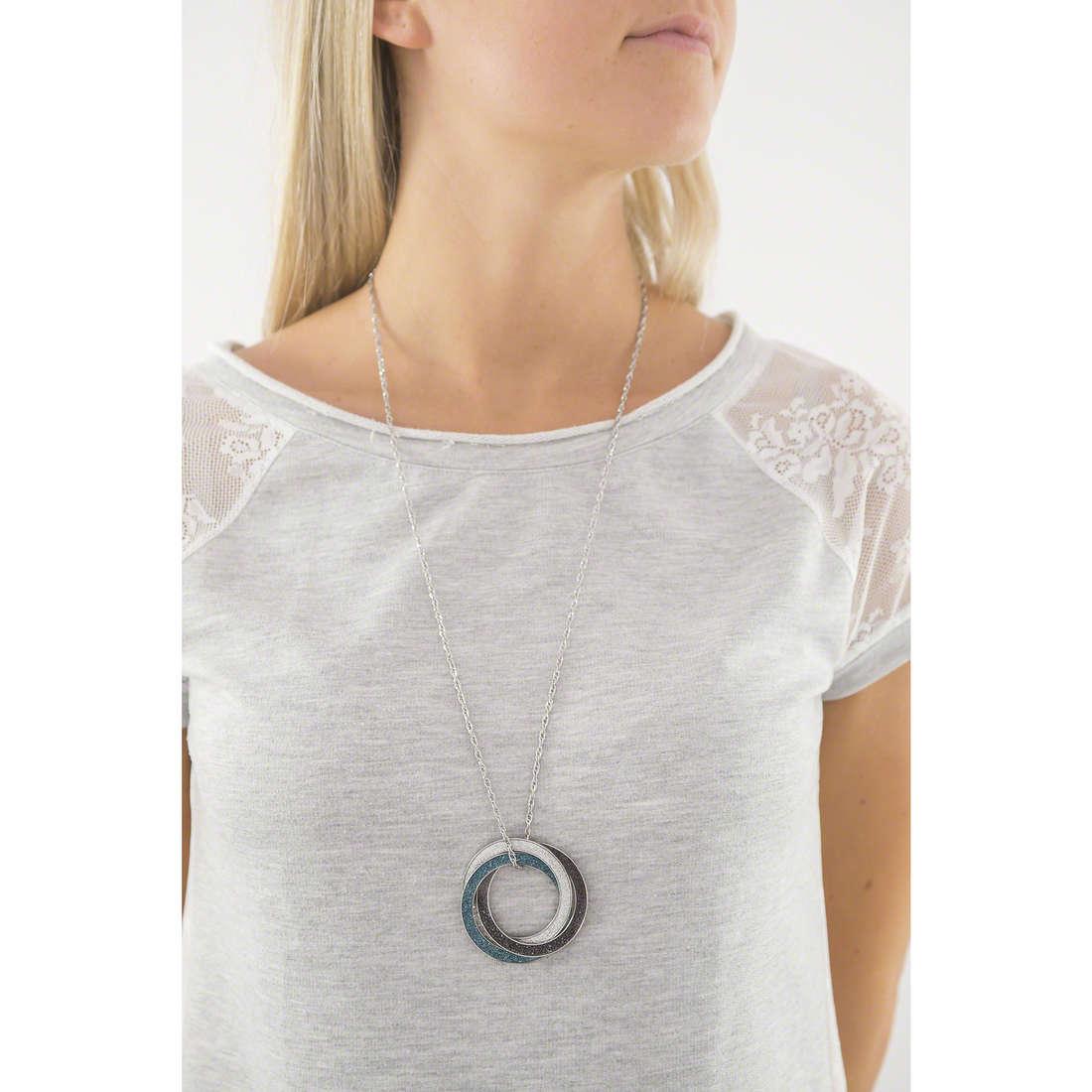 Sagapò colliers Trinidad femme STR13 indosso
