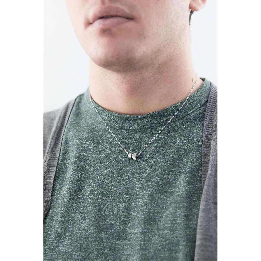 Breil colliers Breilogy homme TJ1751 indosso