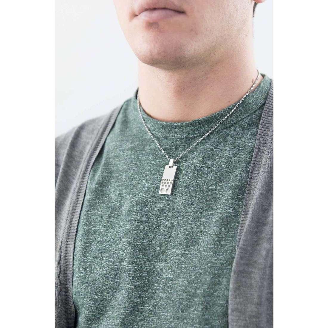 Breil colliers HighVoltage homme TJ1413 indosso