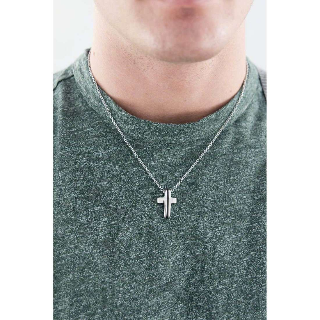 Brosway colliers Medieval homme BMV02 indosso