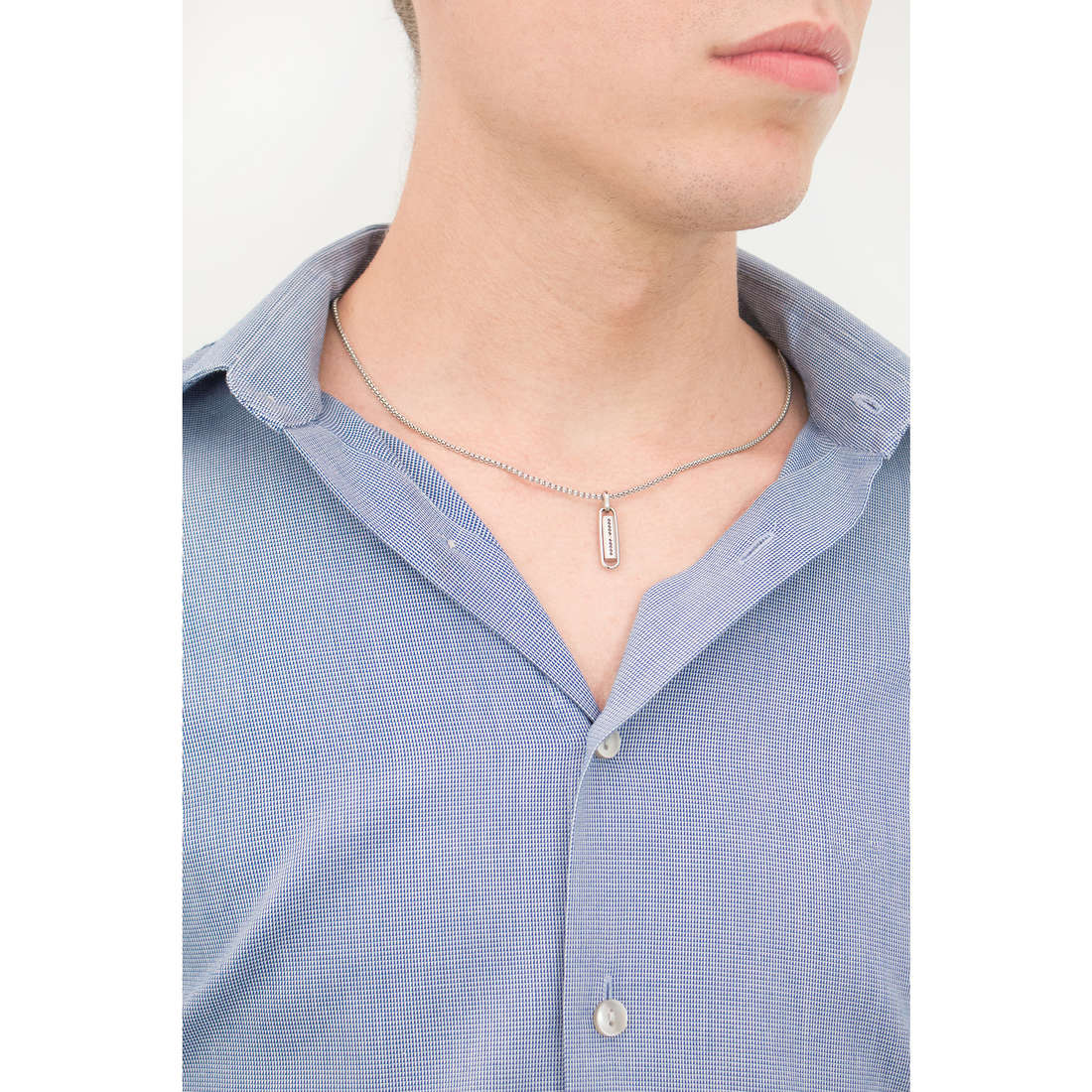 Comete colliers Lingotto homme UGL 363 photo wearing