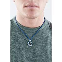 collier homme bijoux Comete Blu di Genova UGL 561