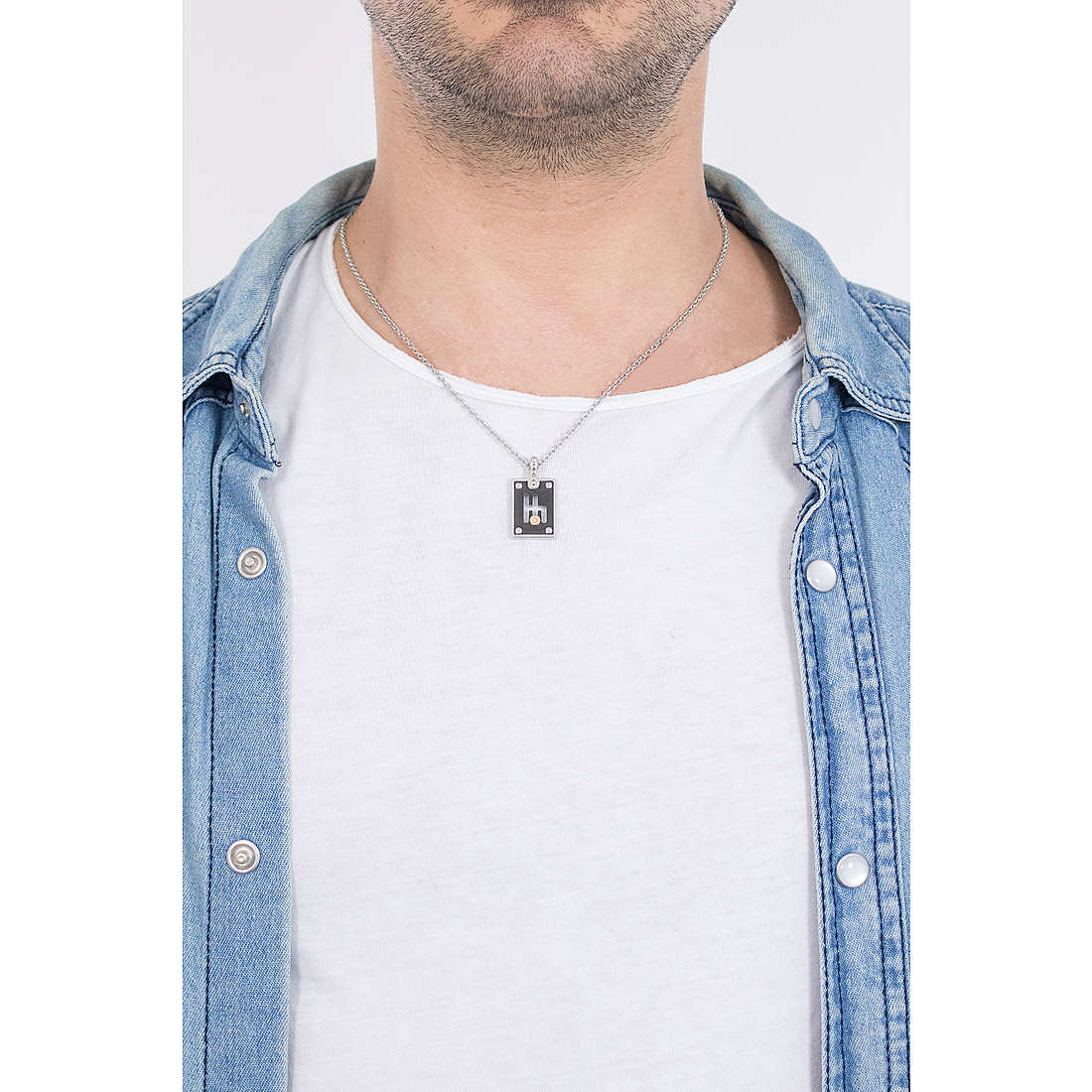 Comete colliers Cambio homme UGL 531 photo wearing