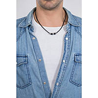 collier homme bijoux Diesel Single Pendant DX1107040
