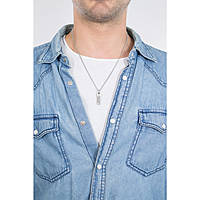 collier homme bijoux Diesel Single Pendant DX1116040