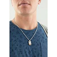 collier homme bijoux Fossil Holiday 15 JF02084998