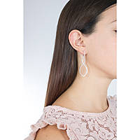 ear-rings woman jewellery Ambrosia Glam Love AAO 123