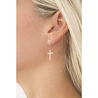 ear-rings woman jewellery Amen ORCHR
