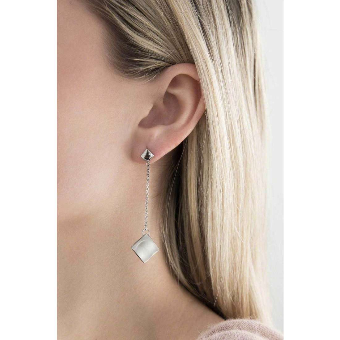 Breil earrings Kite woman TJ1259 indosso