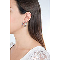 ear-rings woman jewellery Breil Mezzanotte TJ2187