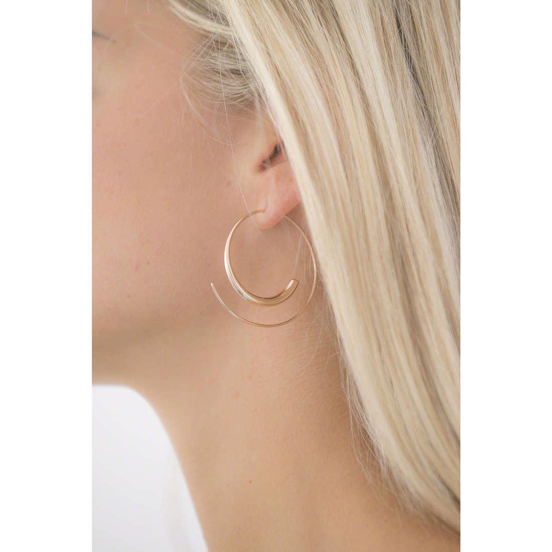 Breil earrings woman TJ1965 indosso