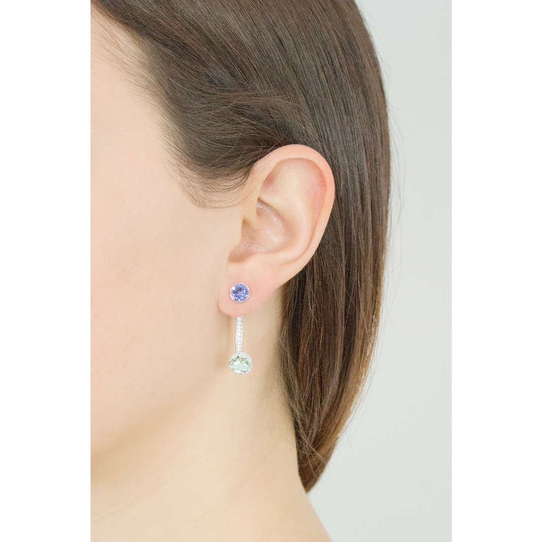 Brosway earrings Affinity woman BFF22 photo wearing