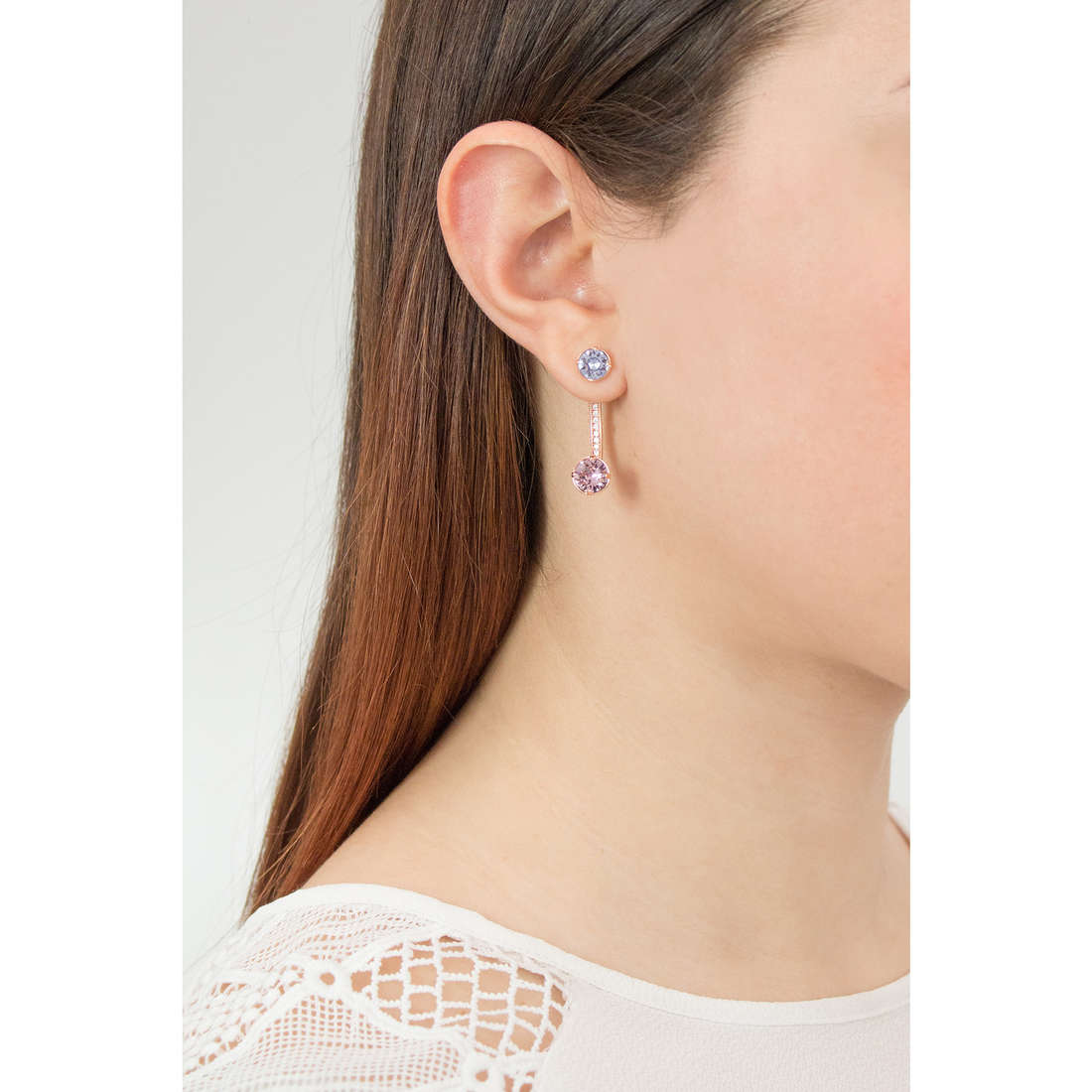 Brosway earrings Affinity woman BFF25 photo wearing