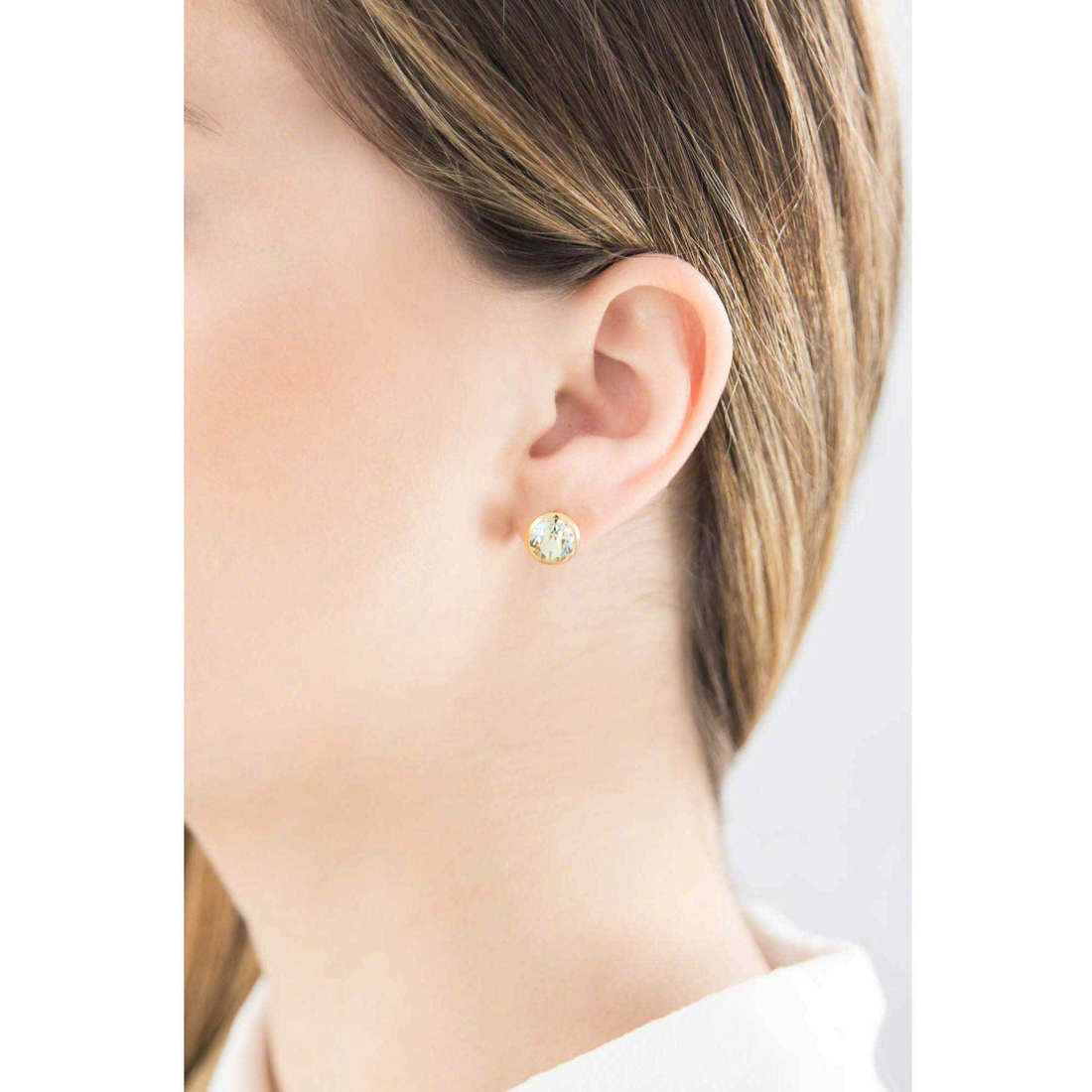 Brosway earrings E-Tring woman BRT23 indosso