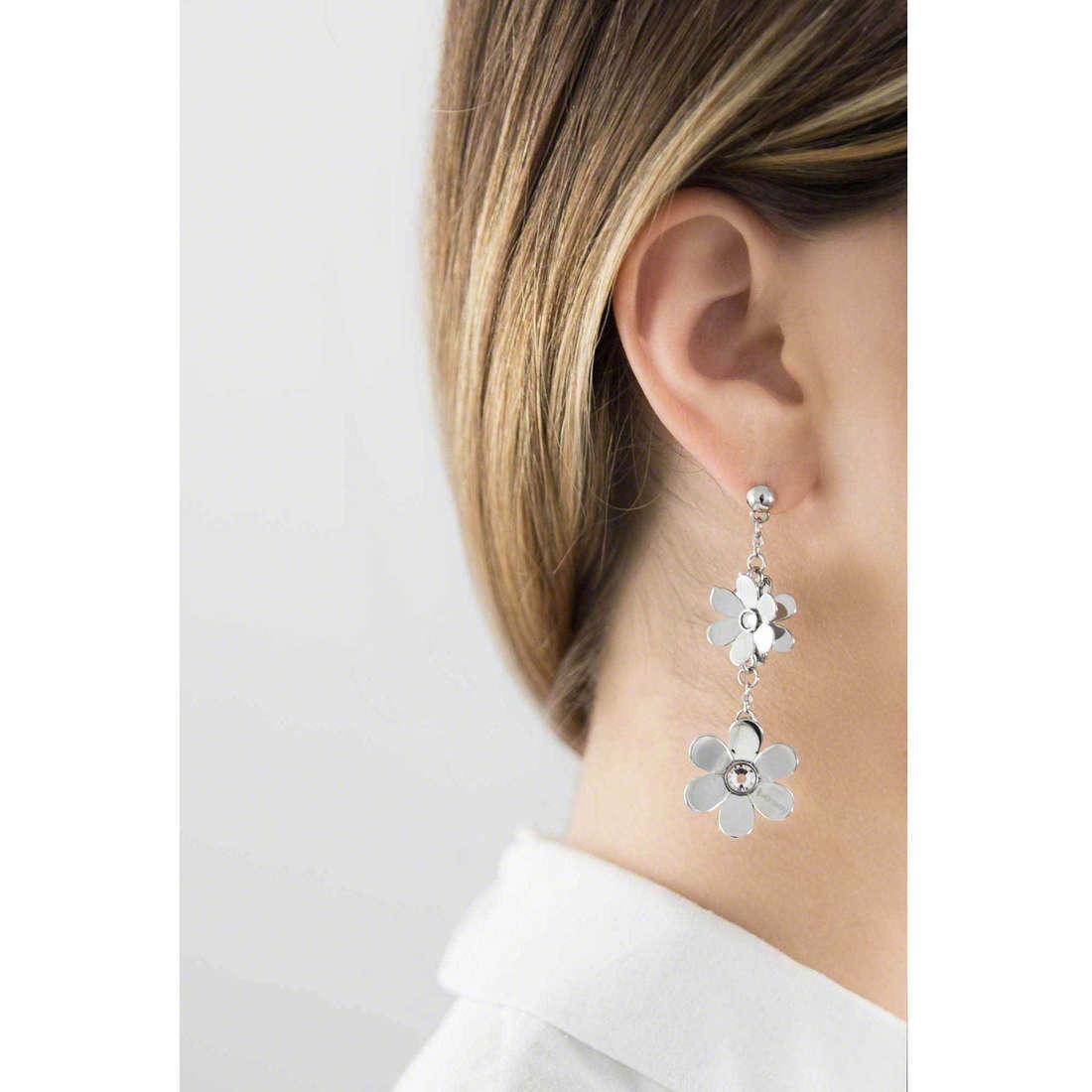 Brosway earrings Jardin woman BJR23 indosso