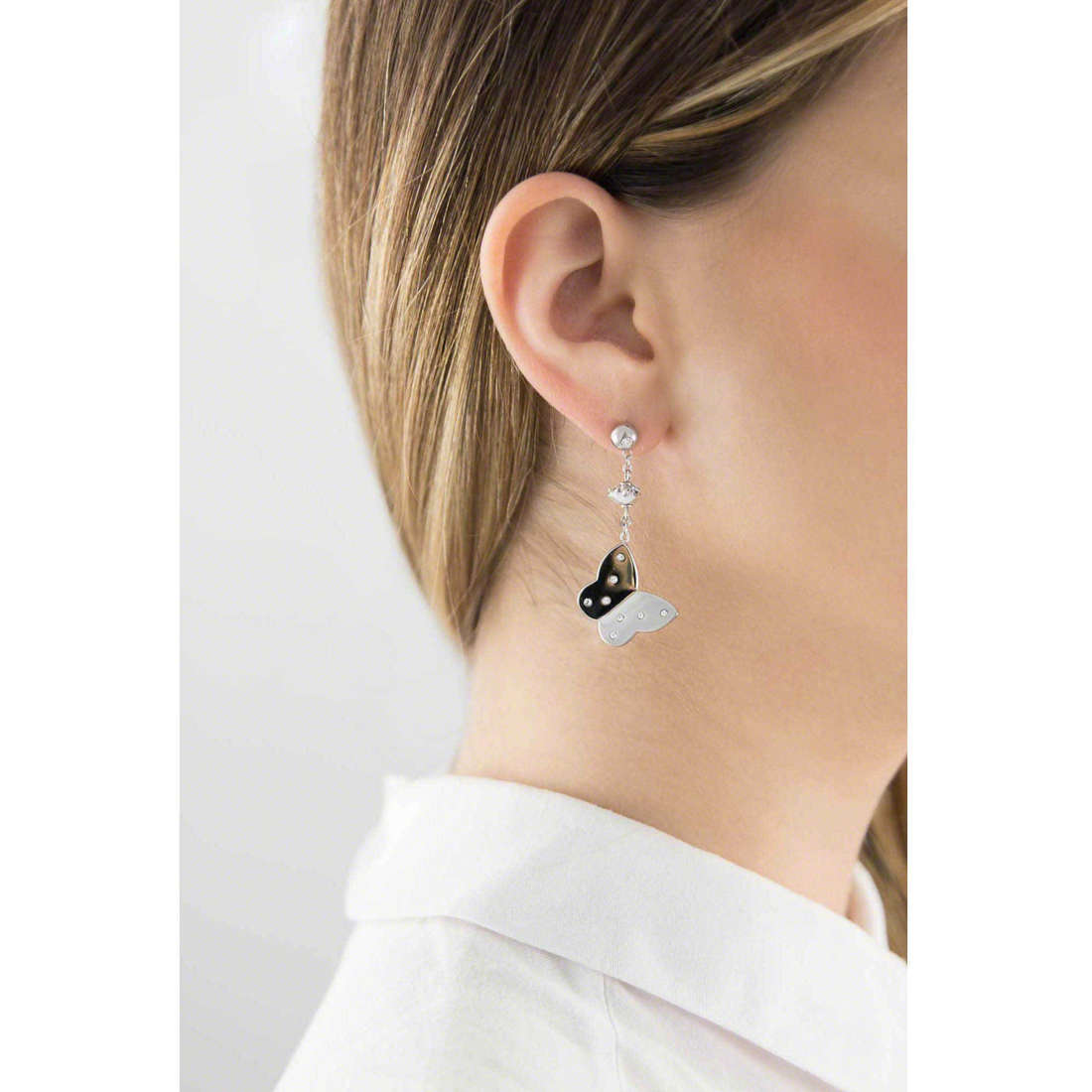 Brosway earrings Lady woman BLD21 indosso
