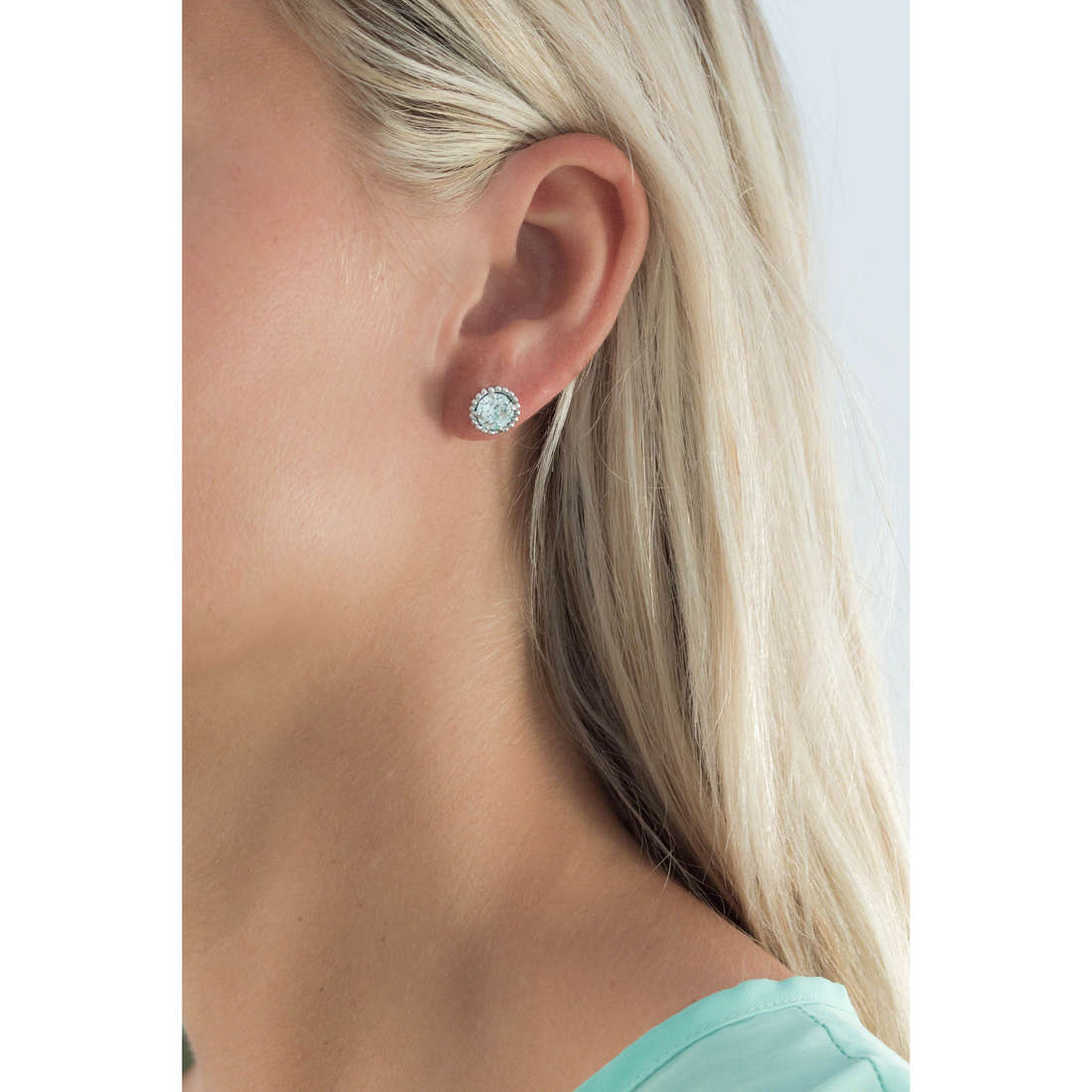 Brosway earrings Princess woman G9PN22 indosso