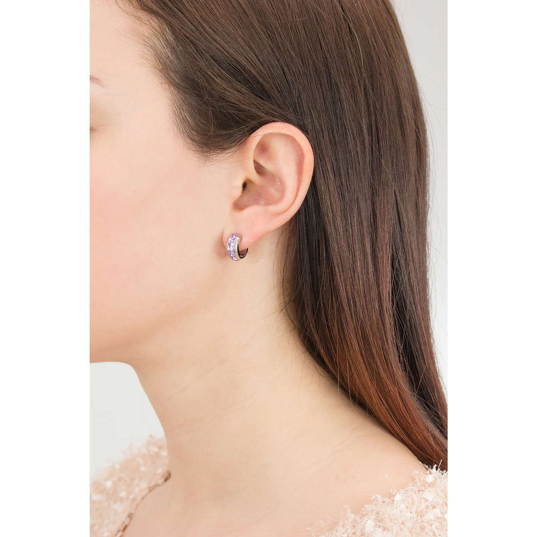 Brosway earrings Tres Jolie woman BTJE02 indosso