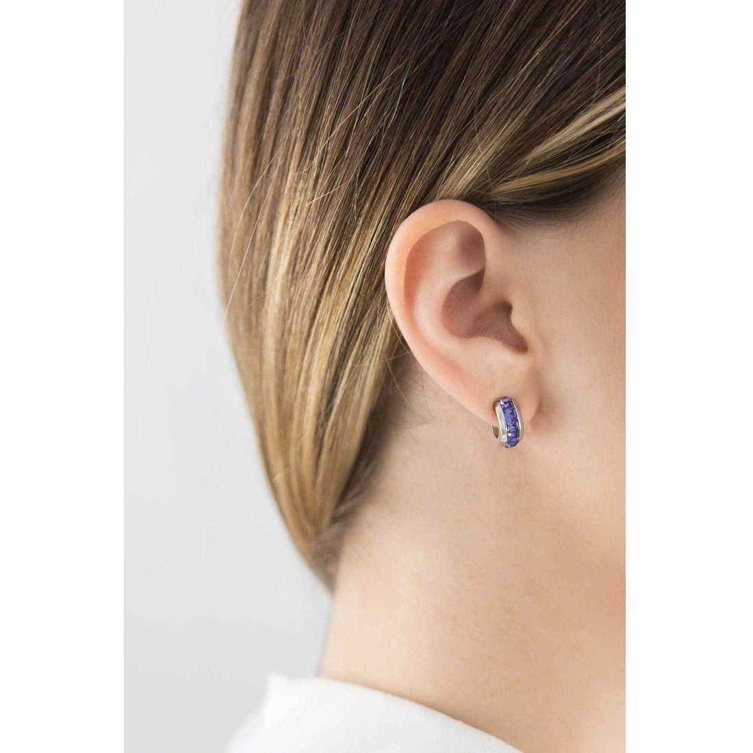 Brosway earrings Tres Jolie woman BTJE03 photo wearing