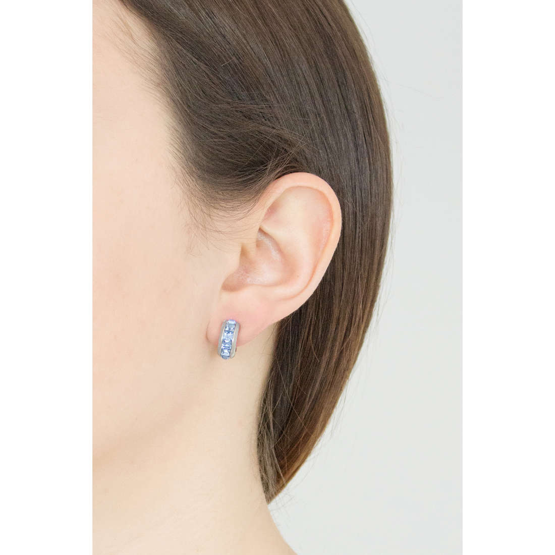 Brosway earrings Tres Jolie woman BTJE04 indosso