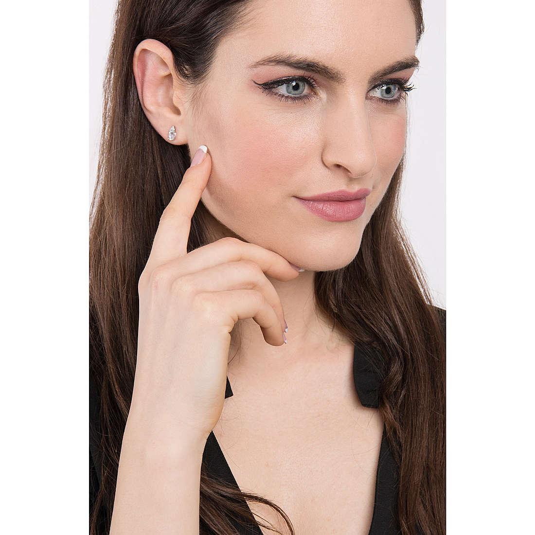 Comete earrings Fantasia Di Acquamarina woman ORQ 227 photo wearing