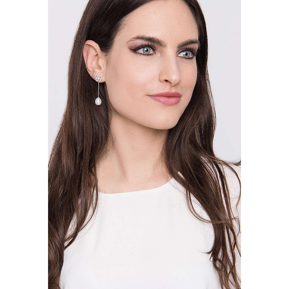 Comete earrings Farfalle woman ORA 111 photo wearing