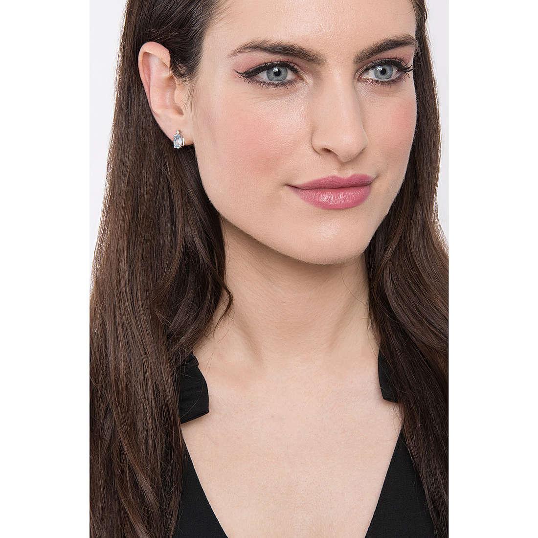 Comete earrings woman ORB 767 photo wearing