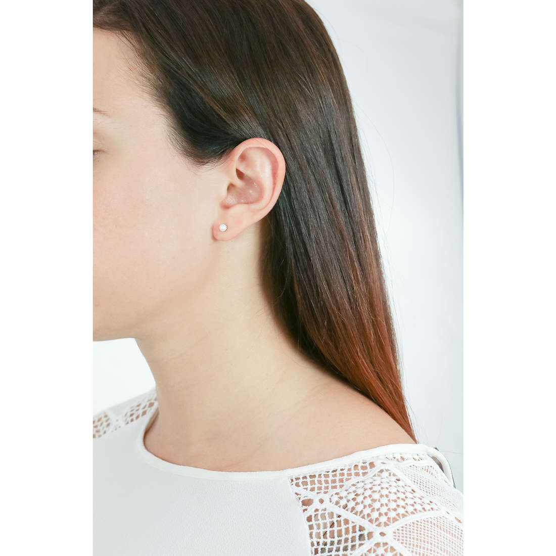 Comete earrings woman ORP 147 B indosso