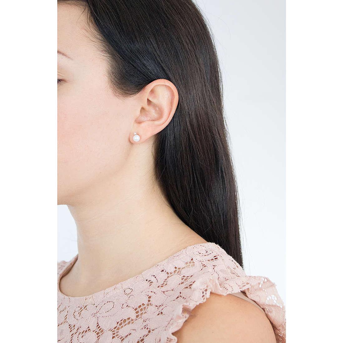 Comete earrings Easy Basic woman ORP 545 photo wearing
