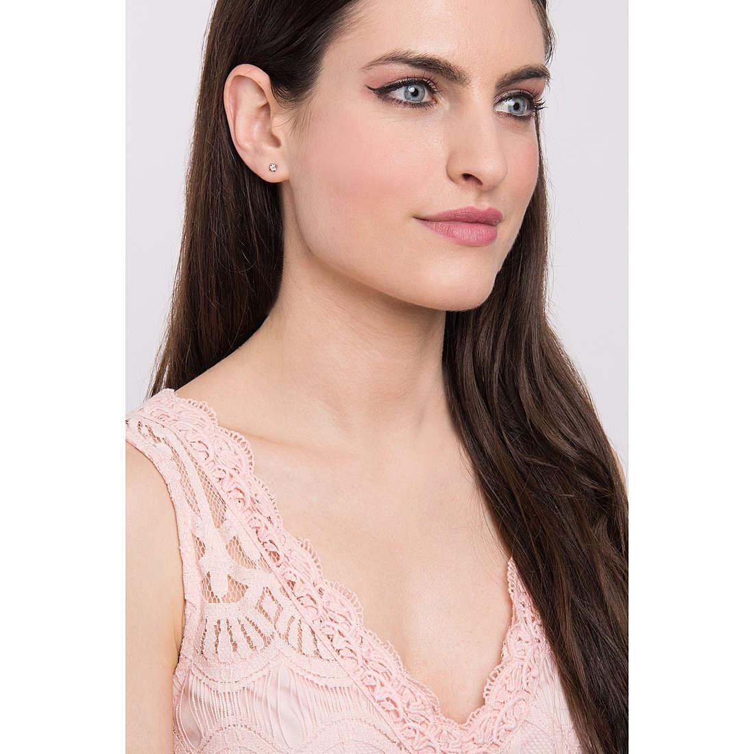 Comete earrings Punti Luce woman ORB 811 photo wearing
