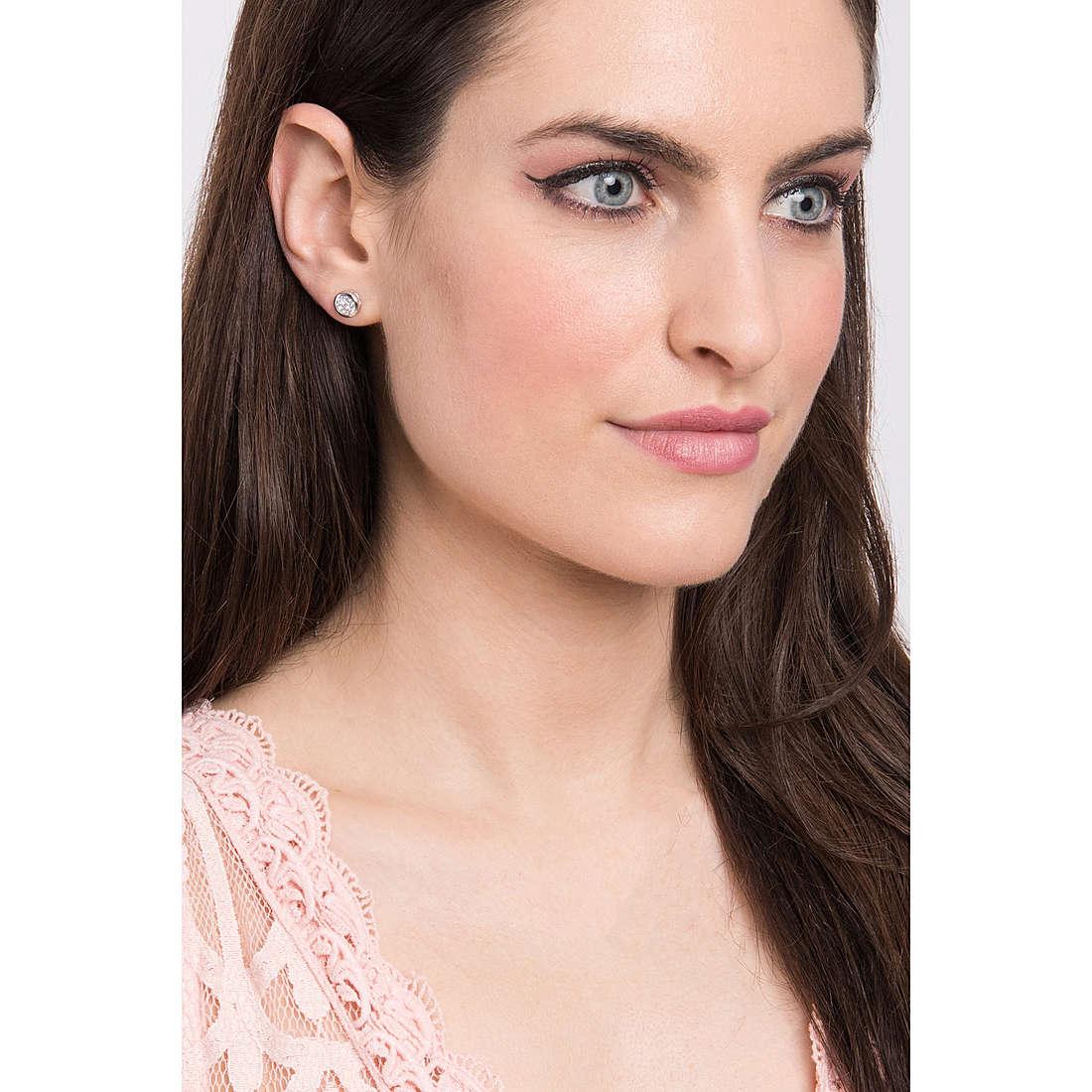 Comete earrings Punti Luce woman ORB 825 photo wearing