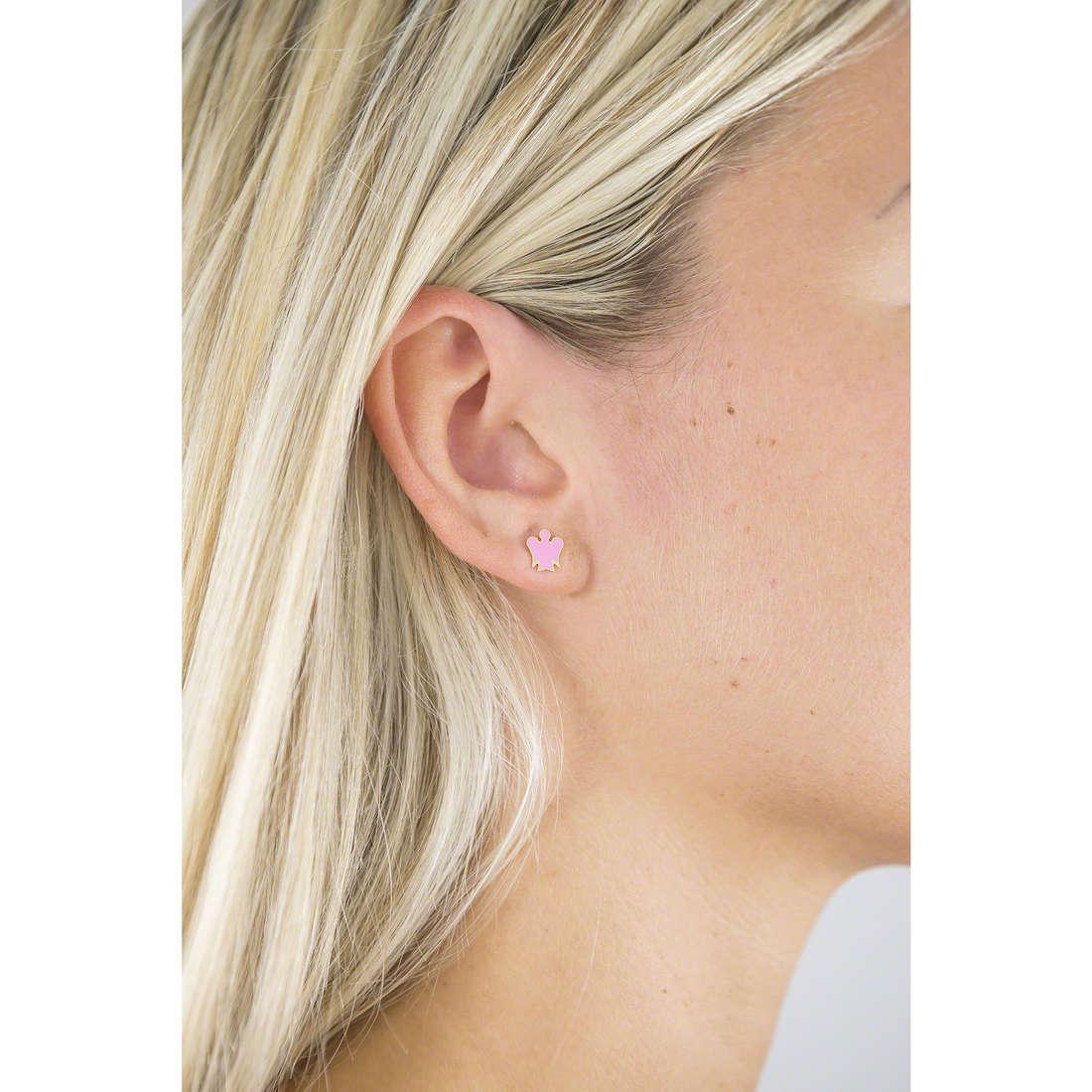 Giannotti earrings Angeli woman NKT209 indosso
