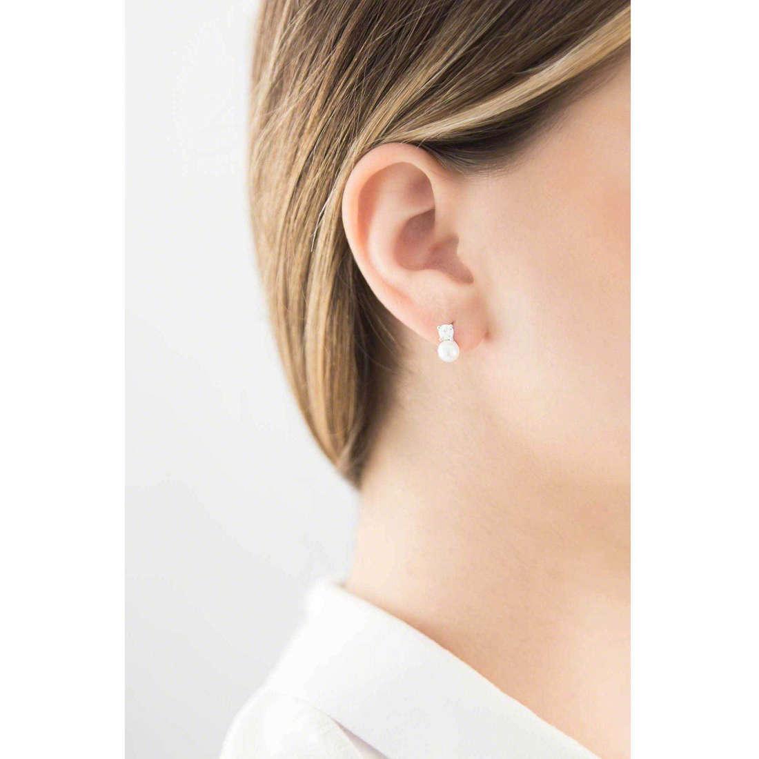 GioiaPura earrings woman 20161-01-00 indosso