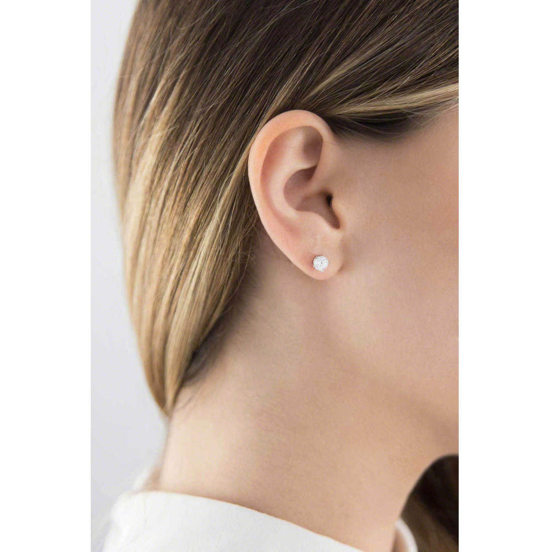 GioiaPura earrings woman 20718-01-00 indosso