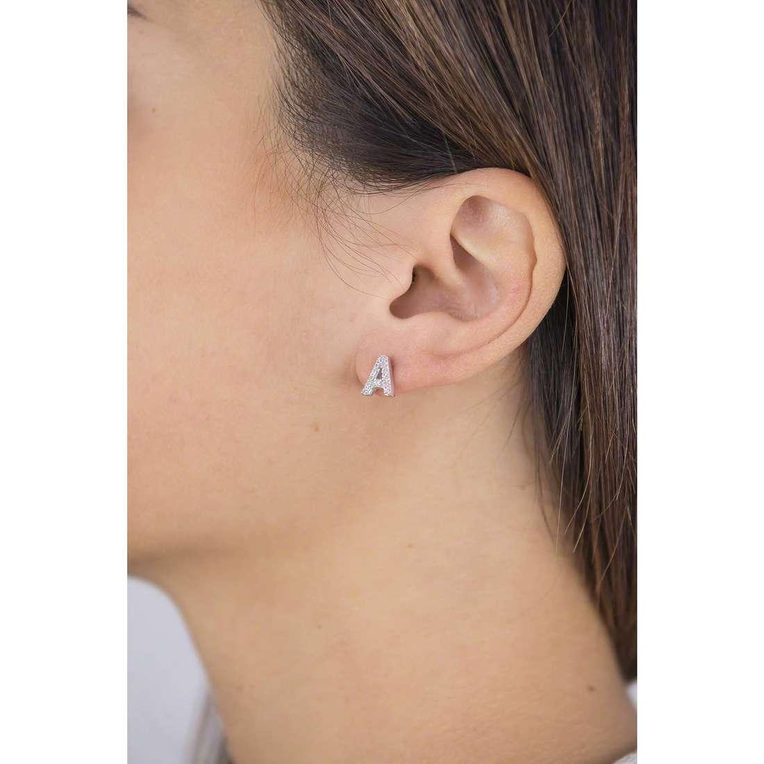 GioiaPura earrings woman 23768-A01-00 indosso