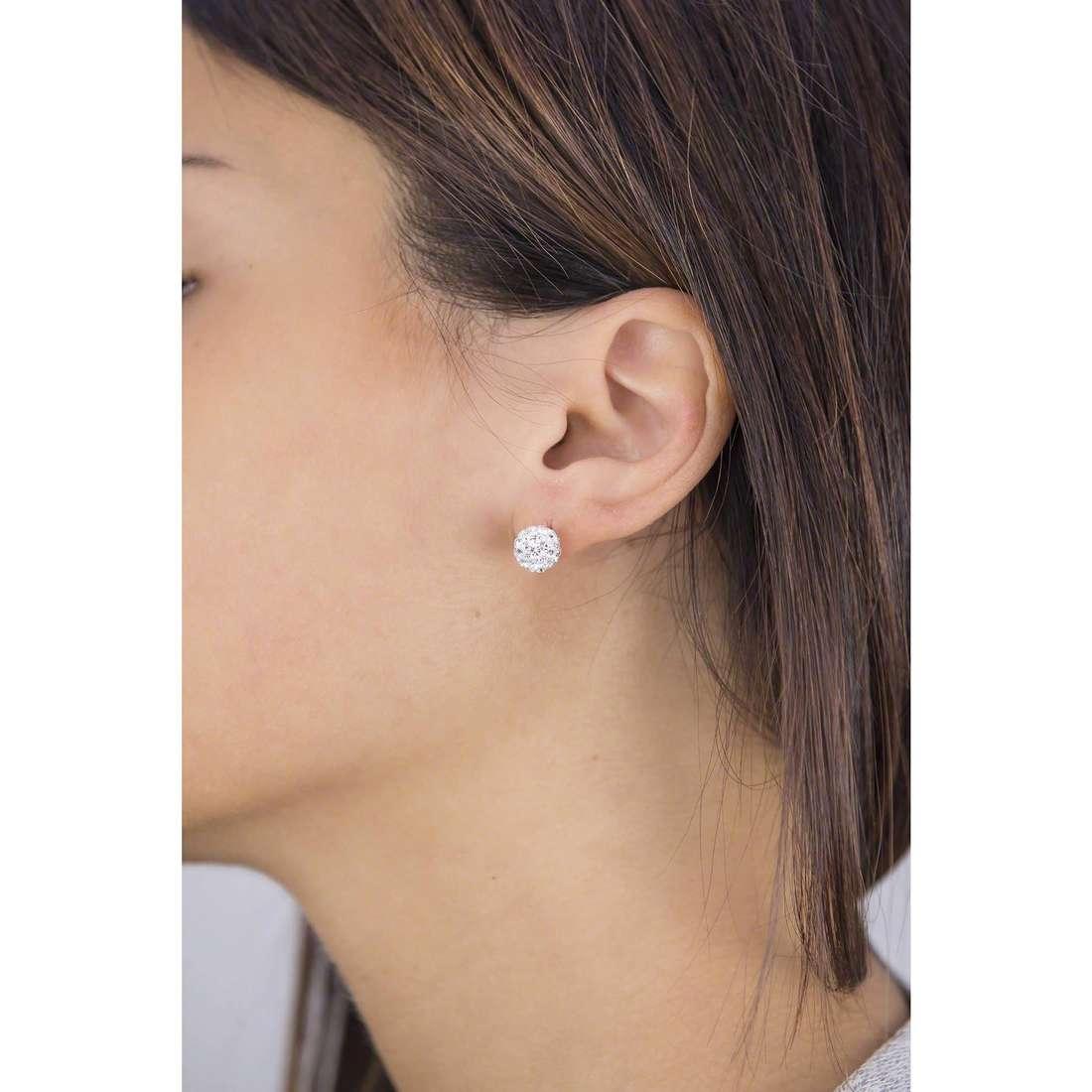 GioiaPura earrings woman 28743-01-00 indosso