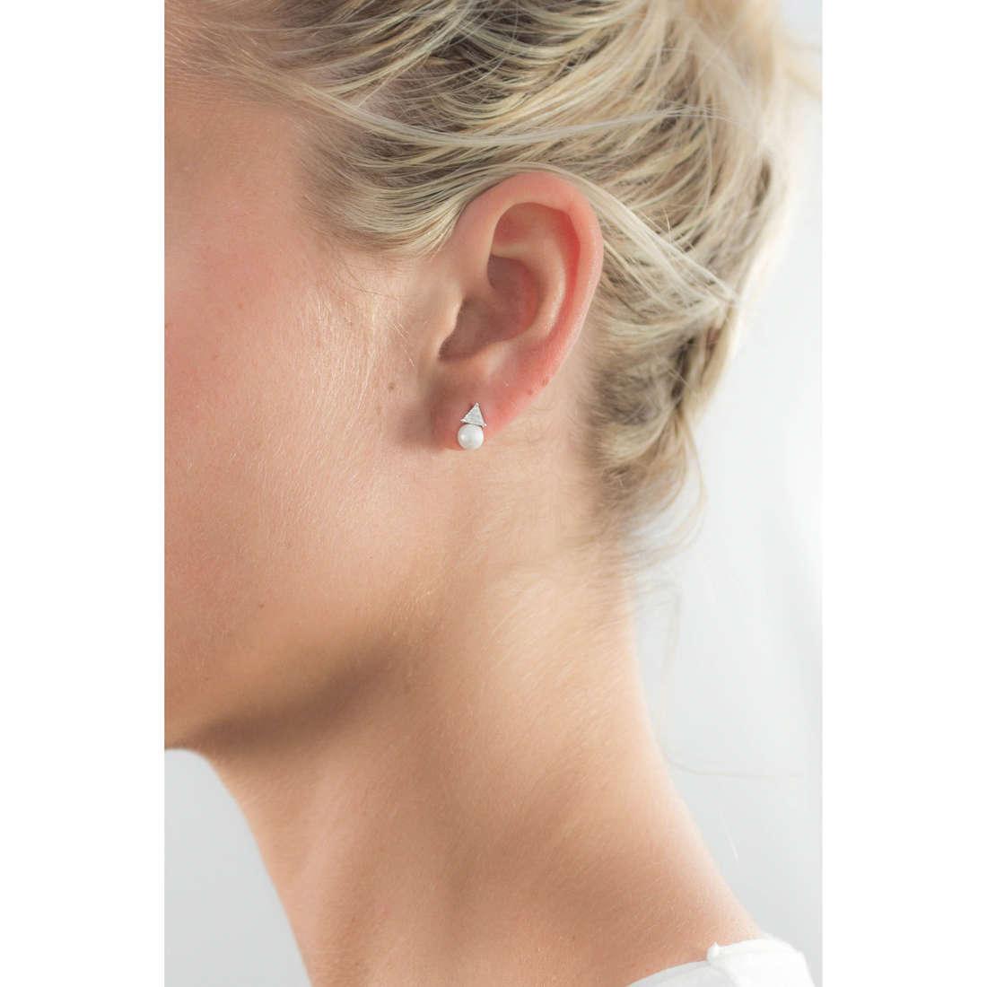 GioiaPura earrings woman 31327-01-00 indosso
