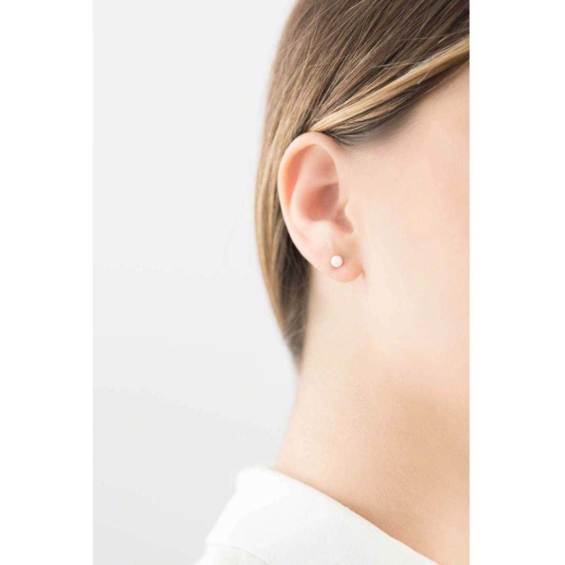 GioiaPura earrings woman 36495-00-00 indosso