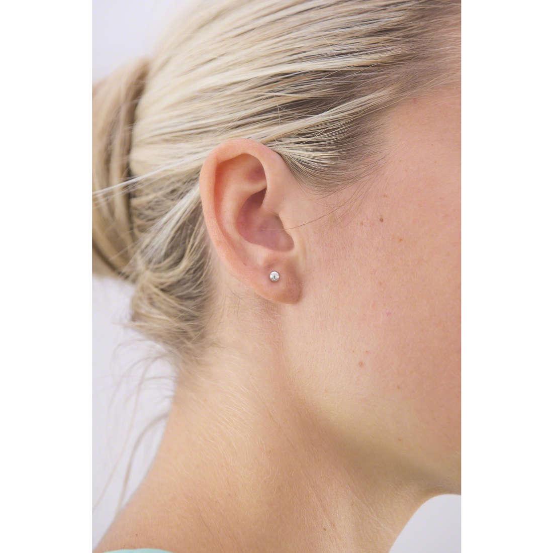 GioiaPura earrings woman 40091-00-00 indosso