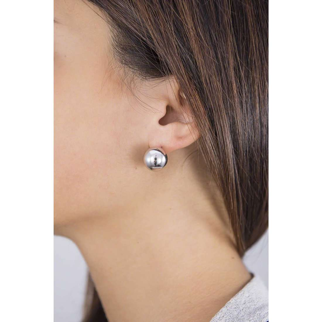 GioiaPura earrings woman 40258-00-00 indosso