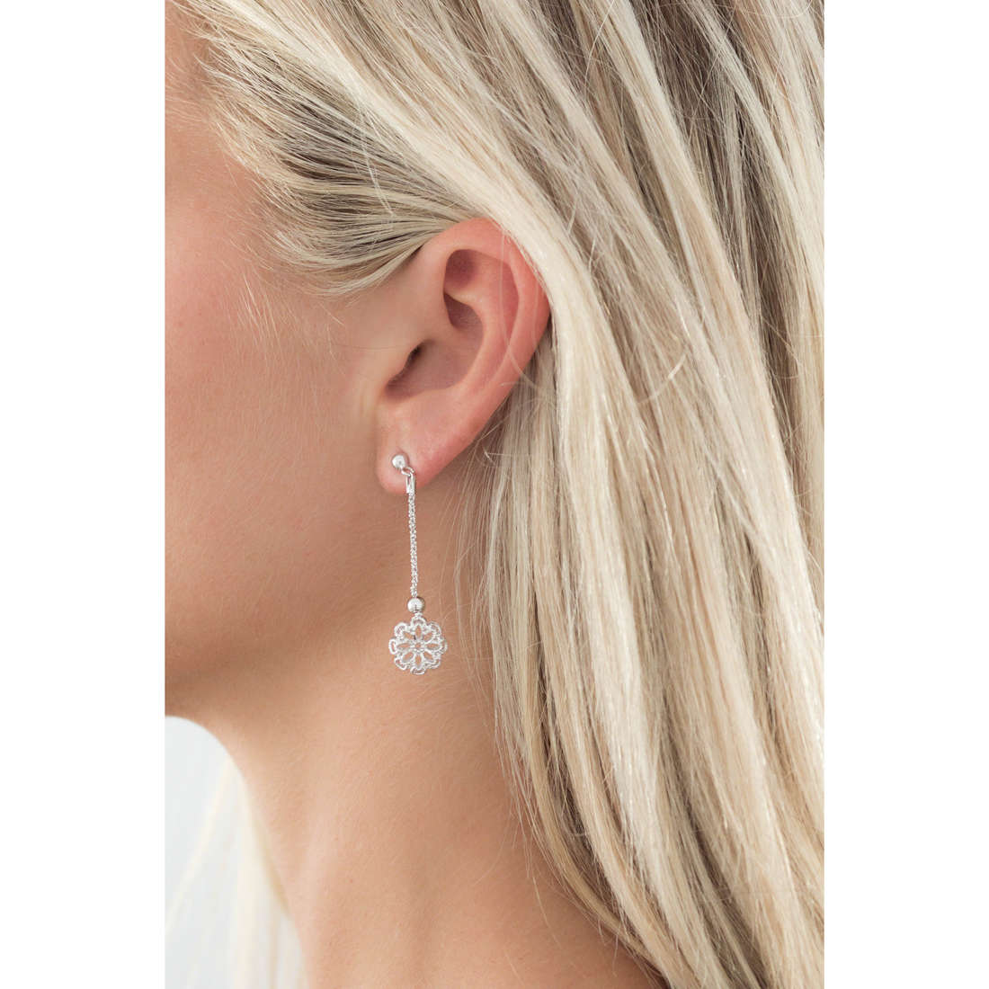 GioiaPura earrings woman GPSRSOR0947 indosso
