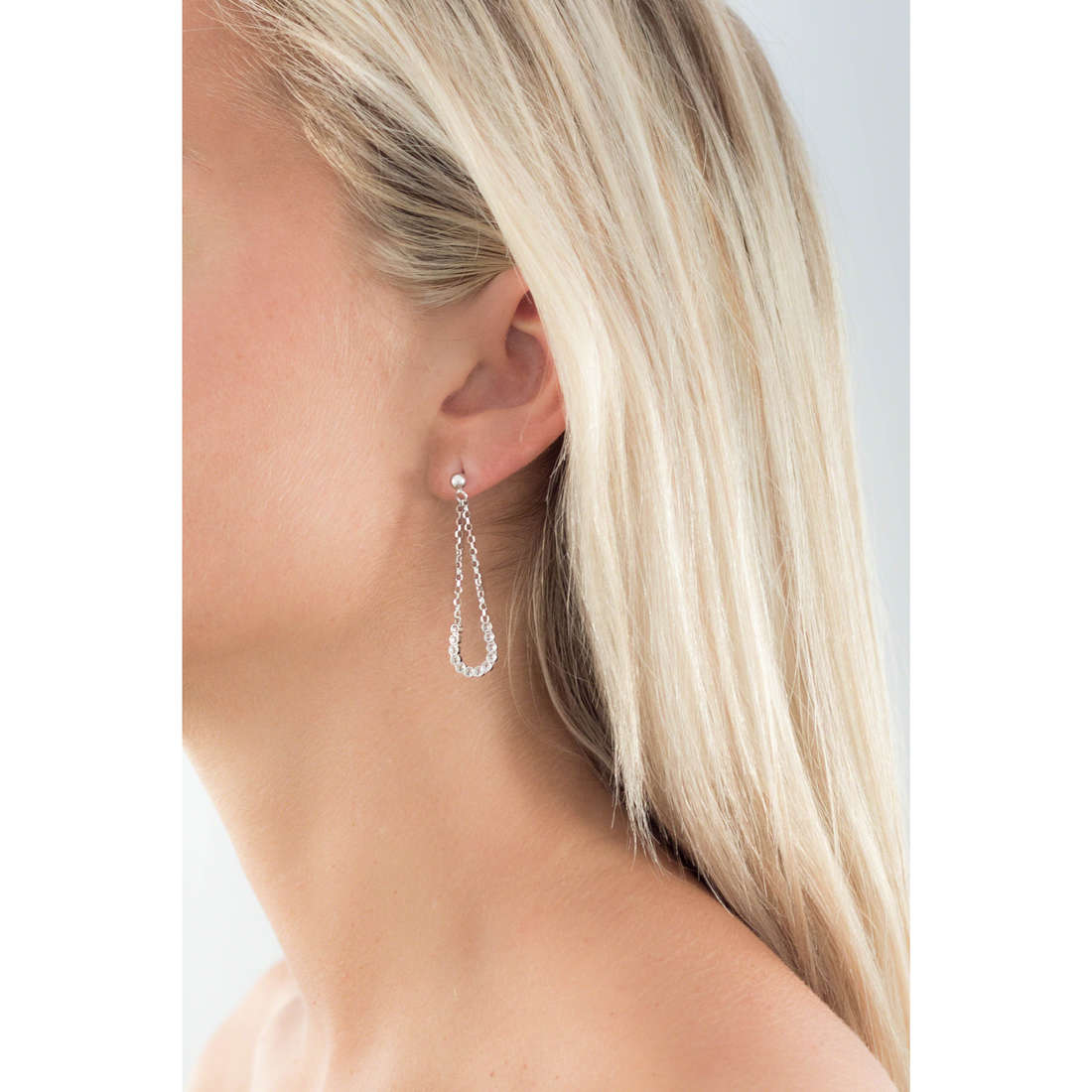GioiaPura earrings woman GPSRSOR1215 indosso