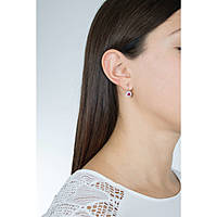 ear-rings woman jewellery GioiaPura GPSRSOR1548-RO