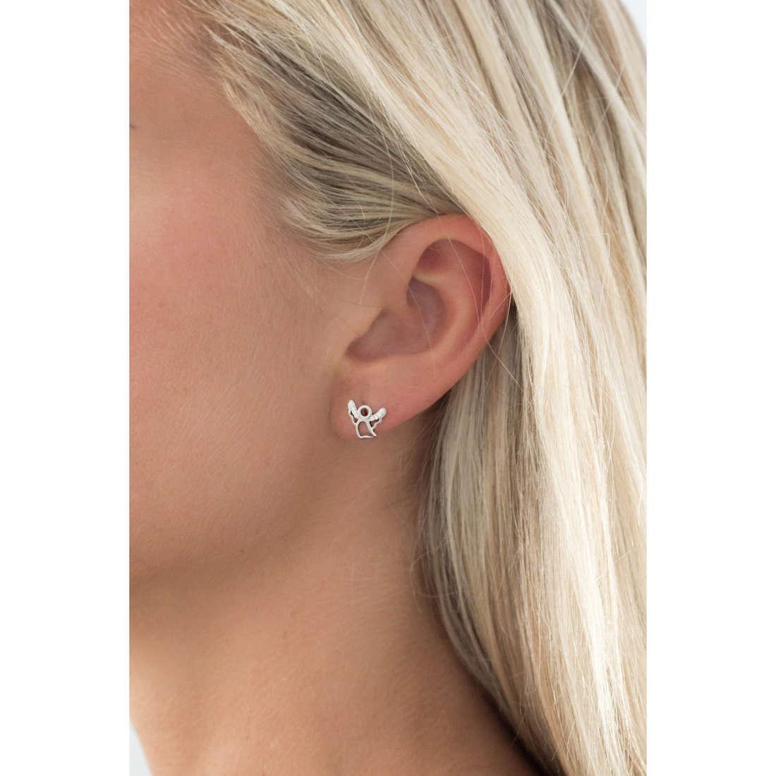 GioiaPura earrings woman GPSRSOR2444 indosso
