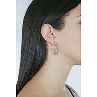 ear-rings woman jewellery GioiaPura WOF01021SI