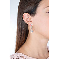 ear-rings woman jewellery GioiaPura WOM01367SI