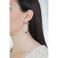 ear-rings woman jewellery Guess Hoops I Did It Again UBE84073